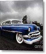 1954 Blue Buick Metal Print