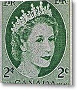 1954 Canada Stamp Metal Print