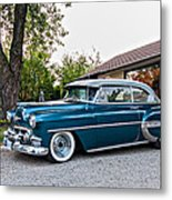 1954 Chevrolet Bel Air Metal Print
