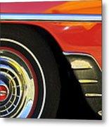 1954 Chevrolet Convertible Wheel Metal Print