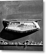 1954 Chevrolet Power Glide Emblem Metal Print by Jill Reger