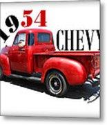 1954 Chevy Metal Print
