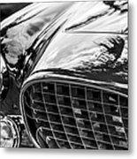 1954 Ferrari Europa 250 Gt Grille -1336bw Metal Print