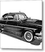 1954 Ford Skyliner Metal Print