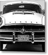 1954 Hudson Hornet In Black Metal Print
