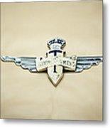 1954 Hudson Italia Touring Coupe Emblem Metal Print
