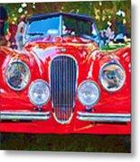 1954 Jaguar Xk 120 Se Ots Metal Print
