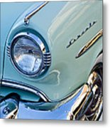 1954 Lincoln Capri Headlight Metal Print