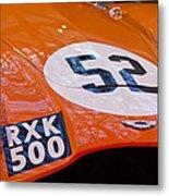 1955 Aston Martin Db3s Sports Racing Car Hood 2 Metal Print