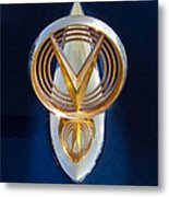 1955 Buick Hood Ornament Metal Print