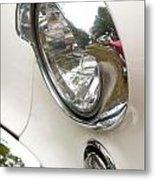 1955 Buick Special Headlight Metal Print