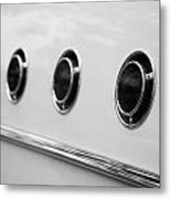 1955 Buick Special Side Air Vents Metal Print