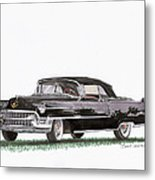 1955 Cadillac Series 62 Convertible Metal Print