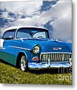 1955 Chevrolet Bel Air Metal Print