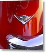 1955 Chevrolet Belair Nomad Emblem Metal Print