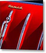 1955 Chevrolet Belair Nomad Hood Ornament -559c Metal Print