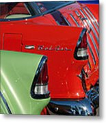 1955 Chevrolet Belair Nomad Taillights Metal Print