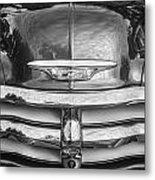 1955 Chevrolet First Series Bw Metal Print