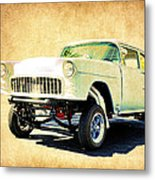 1955 Chevrolet Gasser Metal Print