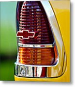 1955 Chevrolet Taillight Emblem Metal Print