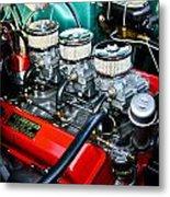 1955 Chevy 327 Metal Print