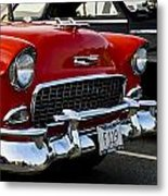 1955 Chevy Bel Air Front End Metal Print