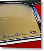 1955 Chevy Bel Air Side Panel Metal Print