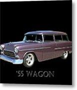 1955 Chevy Handyman Wagon Metal Print