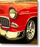 1955 Chevy Red Metal Print