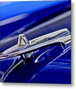 1955 Desoto Hood Ornament 3 Metal Print
