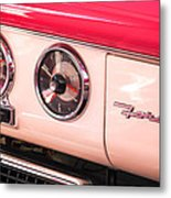 1955 Ford Crown Victoria Fordomatic Emblem Metal Print