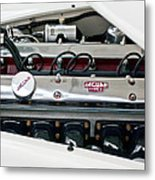 1955 Jaguar Engine Metal Print