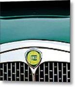 1955 Lancia Aurelia B24 Spyder America Roadster Grille Emblem Metal Print