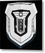 1955 Mercury Montclair Convertible Emblem Metal Print