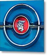 1955 Mercury Monterey  Emblem Metal Print