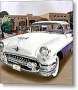 1955 Oldsmobile Super 88 Metal Print
