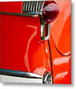 1955 Oldsmobile Taillight Metal Print by Jill Reger