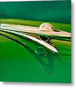 1955 Packard Clipper Hood Ornament 3 Metal Print