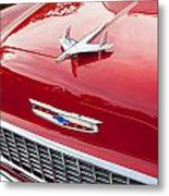 1955 Red Chevy Metal Print