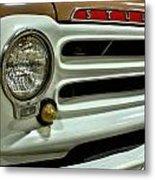 1955 Studebaker Headlight Grill Metal Print