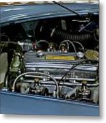1956 Austin Healey Engine Metal Print