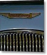 1956 Austin-healey Grill Hood Ornament Metal Print