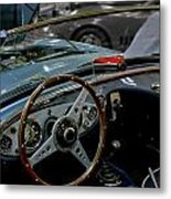 1956 Austin Healey Interior Metal Print