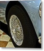 1956 Austin Healey Wheel Metal Print
