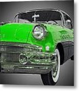 1956 Buick Special Riviera Coupe-green Metal Print