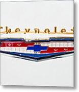 1956 Chevrolet 210 Emblem Metal Print