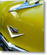 1956 Chevrolet Hood Ornament 3 Metal Print