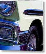 1956 Chevy Bel Air Custom Hot Rod Metal Print by David Patterson