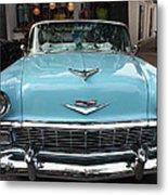 1956 Chevy Bel-air Metal Print