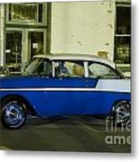 1956 Chevy Bel Air Metal Print